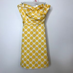 Ruby Rox Strapless Dress Size 13 Polka Dot